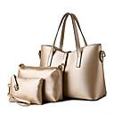 お買い得  バッグセット-女性用 バッグ PU トート / ショルダーバッグ / バッグセット リベット ライトブルー / ネービーブルー / ライトブルー