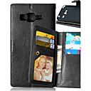 halpa Uutuusvalaisimet-Etui Käyttötarkoitus Samsung Galaxy J5 / J1 / Grand Prime Lomapkko / Korttikotelo / Tuella Suojakuori Yhtenäinen PU-nahka