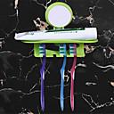billige Tannbørste og tilbehør-1pc Kreativ Moderne Plast Tannbørsteholder Vægmonteret