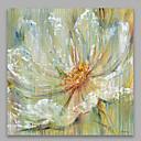 olcso Virág festmények-Hang festett olajfestmény Kézzel festett - Csendélet Modern Vászon