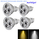 cheap LED Bi-pin Lights-YouOKLight 300 lm GU10 LED Spotlight R63 3 leds High Power LED Dimmable Decorative Warm White Cold White AC 85-265V