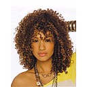 cheap Synthetic Capless Wigs-Synthetic Wig Kinky Curly Synthetic Hair Highlighted / Balayage Hair / African American Wig Brown Wig Women's Short Capless