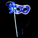billige Masker-Karneval Maske Unisex Halloween Karneval Festival / høytid Drakter Blå / Svart / Rose Lapper