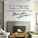 cheap Wall Stickers-Decorative Wall Stickers - Plane Wall Stickers Landscape / Animals Living Room / Bedroom / Bathroom / Washable / Removable