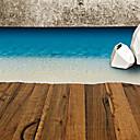 abordables Adhesivos de Pared-Calcomanías Decorativas de Pared - Calcomanías de Aviones para Pared Paisaje / De moda / Ocio Sala de estar / Dormitorio / Baño