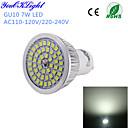 preiswerte LED Glühbirnen-YouOKLight 600 lm GU10 LED Spot Lampen A50 48 Leds SMD 2835 Dekorativ Kühles Weiß Wechselstrom 110-130V Wechselstrom 220-240V
