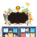 billige Vægklistermærker-Dekorative Mur Klistermærker - Vægklistermærker i Tavlestil Landskab / Dyr / Romantik Stue / Soveværelse / Badeværelse