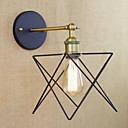 cheap Cases, Bags & Straps-Rustic / Lodge Wall Lamps & Sconces Metal Wall Light 110-120V / 220-240V