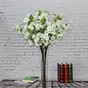 abordables Flores Artificiales-Flores Artificiales 1 Rama Estilo europeo Sakura Flor de Mesa