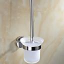 preiswerte Armaturen Zubehör-WC-Bürstenhalter Moderne Edelstahl 1 Stück - Hotelbad