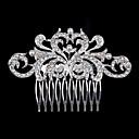 abordables Accesorios para el Cabello-los panales nuevos perla coreana venta de joyas de la novia del tocado del diamante