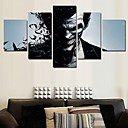 baratos Impressões-Estampado Tela de impressão - Abstrato / Pessoas / Arte Pop Modern
