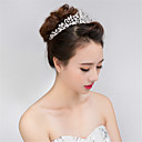 cheap Wedding Flowers-Rhinestone / Alloy Tiaras with 1 Wedding / Special Occasion Headpiece