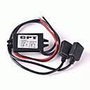 billige Bil Oplader-led-display 2 USB-porte indeholder kabel dc 5v / 3a billader