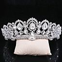 cheap Party Headpieces-Alloy Tiaras / Headwear with Floral 1pc Wedding / Special Occasion Headpiece