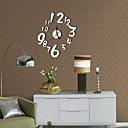 رخيصةأون ساعات جدران عصرية-كاجوال الحديثة / المعاصرة مكتب/الأعمال بلاستيك دائري داخلي,AA ساعة الحائط