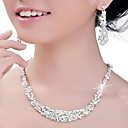 cheap Earrings-Women's Crystal / Rhinestone Jewelry Set - Others Silver