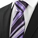 ieftine Suporturi de Cartonașe De Loc-Bărbați Dungi Petrecere Birou De Bază, Bumbac Celofibră Poliester - Cravată