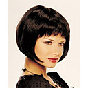 cheap Synthetic Capless Wigs-Synthetic Wig Straight Bob Haircut / Short Bob / With Bangs Synthetic Hair Wig Women's Short Capless