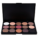 cheap Eyeshadows-15 Colors Eyeshadow Palette / Eye Shadow / Powders Eye / Face Shimmer glitter gloss Long Lasting Natural Daily Makeup / Halloween Makeup / Party Makeup Makeup Cosmetic / Matte