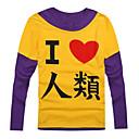 tanie Bluzy Anime-Zainspirowany przez No Game No Life Cosplay Anime Kostiumy cosplay Bluzy Cosplay Nadruk Długi rękaw Płaszcz Na Męskie / Damskie