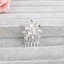 preiswerte Parykopfbedeckungen-Krystall Haarkämme mit 1 Hochzeit / Besondere Anlässe / Normal Kopfschmuck