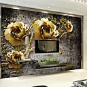 halpa Seinämaalaus-Art Deco Kodinsisustus Ylellisyys Seinäpinnat, Other materiaali liima tarvitaan Seinämaalaus, huoneen Tapetit