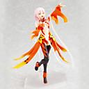 billige Anime actionfigurer-Anime Action Figurer Inspirert av Guilty Crown Inori Yuzuriha 14 cm CM Modell Leker Dukke