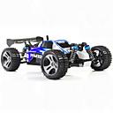 billige Fjernstyrte biler-Radiostyrt Bil WLtoys A959 2.4G Buggy (Off- Road) / Off Road Car / Driftbil 1:18 Børste Elektrisk 45 km/h KM / H Fjernkontroll / Oppladbar / Elektrisk