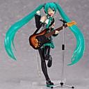 tanie Figurki Anime-Figurki Anime Zainspirowany przez Vocaloid Hatsune Miku Polichlorek winylu CM Klocki Lalka Zabawka