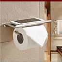 billige Elektriske plugger & støpsler-Toalettrullholder / Sølv Rustfritt Stål /Moderne