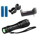 baratos Luzes & Lanternas de Acampamento-ZK10 Lanternas LED LED 1100lm 5 Modo Iluminação Com Pilha e Carregador Zoomable / Foco Ajustável / Resistente ao Impacto Campismo /