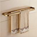 ieftine Soap Dispensers-Prosop Baie Contemporan Alamă 1 piesă - Hotel baie 2-turn bar