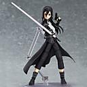 billige Anime actionfigurer-Anime Action Figurer Inspirert av Sword Art Online Kirito PVC 15 cm CM Modell Leker Dukke