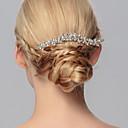 hesapli Parti Başlıkları-Kristal - Saç Combs 1 Düğün / Özel Anlar / Günlük Başlık