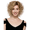 cheap Synthetic Capless Wigs-capless high quality pretty women s fashion blonde mix short curly synthetic wigs for women