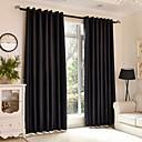 halpa Blackout-verhot-Pimennysvuoritus Drapes Makuuhuone Yhtenäinen Polyesteri Painettu