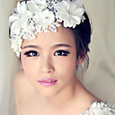 cheap Hair Jewelry-Women's Floral / Wedding / Elegant Pearl / Alloy Headband / Headbands / Fascinators / Headbands / Fascinators