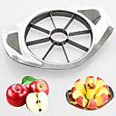 cheap Fruit & Vegetable Tools-Stainless steel Slicer Creative Kitchen Gadget Kitchen Utensils Tools Fruit Apple 1pc