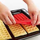 billige Bakeredskap-Bakeware verktøy Silikon Økovennlig Kake / Til Småkake / Sjokolade Bakeform 1pc