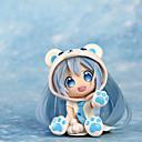 levne Anime akční figurky-Anime Čísla akce Inspirovaný Cosplay Snow Miku PVC 7 CM Stavebnice Doll Toy