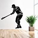 preiswerte Wand-Sticker-Menschen Cartoon Design Freizeit Wand-Sticker Flugzeug-Wand Sticker Dekorative Wand Sticker, Vinyl Haus Dekoration Wandtattoo Wand