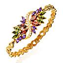 cheap Bracelets-Women's Crystal Chain Bracelet - Crystal, Zircon, Gold Plated Bracelet Golden For Christmas Gifts Wedding Party