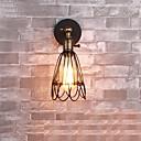 billige Vegglamper-Rustikk / Hytte Vegglamper Metall Vegglampe 110-120V / 220-240V 60W