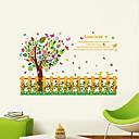 preiswerte Wand-Sticker-Landschaft Tiere Romantik Mode Formen Blumen Feiertage Worte & Zitate Cartoon Design Fantasie Botanisch Wand-Sticker Flugzeug-Wand Sticker