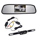 """billige LED Strip Lamper-4.3 """"TFT LCD monitor bilen bak trådløs 170 ° sikkerhetskopi ryggekamera kit nattsyn"""