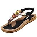 halpa Naisten sandaalit-Naisten Flat Heel-sandaalit Tekonahka Kesä Comfort Tasapohja Beesi / Sininen / Pinkki
