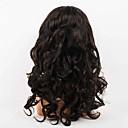 olcso Emberi hajból készült parókák-Emberi haj Csipke eleje Paróka Hullámos haj Paróka Rövid Közepes Hosszú Emberi hajból készült parókák