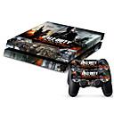 billige PS4-tilbehør-B-SKIN Klistremerke Til PS4 ,  Klistremerke PVC 1 pcs enhet