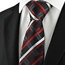 billige Tilbehør til herrer-Herre Fest Kontor Grunnleggende Slips Ruter Bomull Rayon Polyester